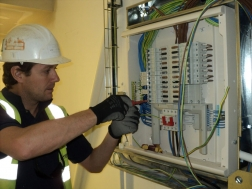 Dave at consumer unit